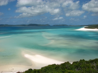 Whitehaven beach - Whitsunday Islands