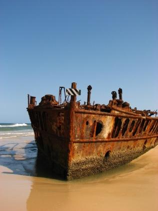 Wreck of SS Maheno - Fraser Island